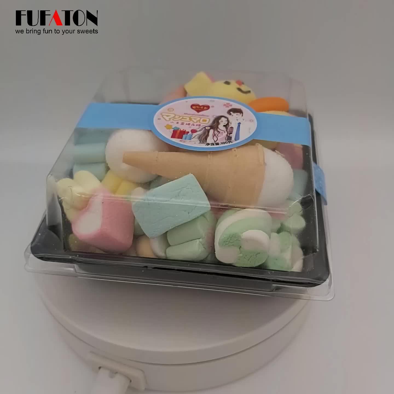 Al gusto di frutta marshmallow caramelle e dolci per il commercio all'ingrosso