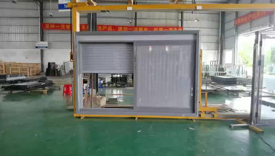 Foshan NF एल्यूमीनियम खिड़कियों के साथ बिजली रोलर शटर