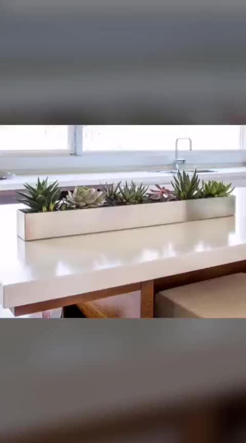 custom outdoor polygonal stainless steel indoor flower planter farming gardening plant pot