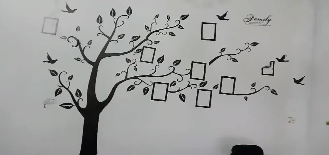 Memory Tree Wall Decals Tree Photo Mural PVC Stickers Room Decor Wall Stickers Home Decor