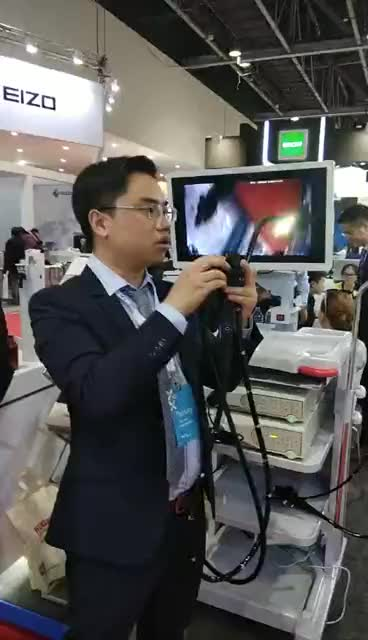 IN-P6100 Endoscope with gastroscope and colonoscope camera software