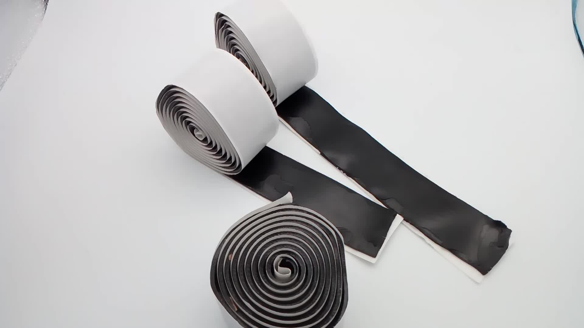 grey butyl tape  for sealing trailer roof metal panels putty