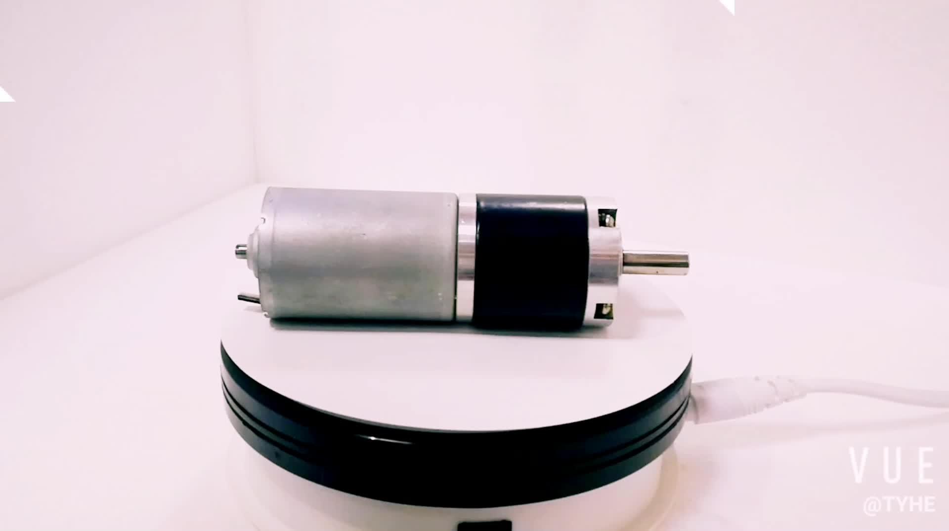 Precio barato de la venta a granel de pequeño tamaño 42mm bldc 24v 12v alto par 100kg de fuerza dc sin escobillas engranaje planetario reductor de motor