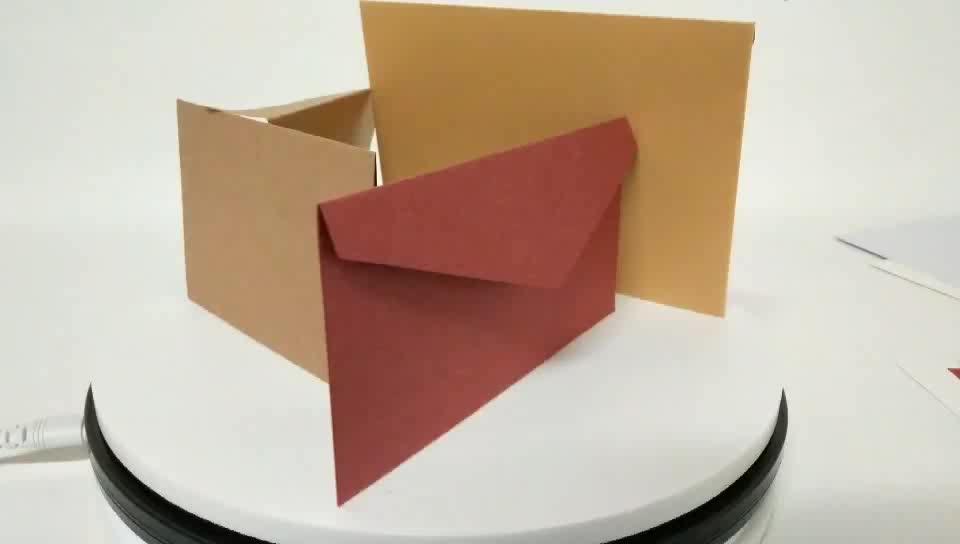 Personalizado Bonito Dos Desenhos Animados Kawaii Colorido Envelope
