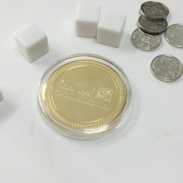 Hot koop! zilver messing Token Coin in gift & crafts/souvenir coin