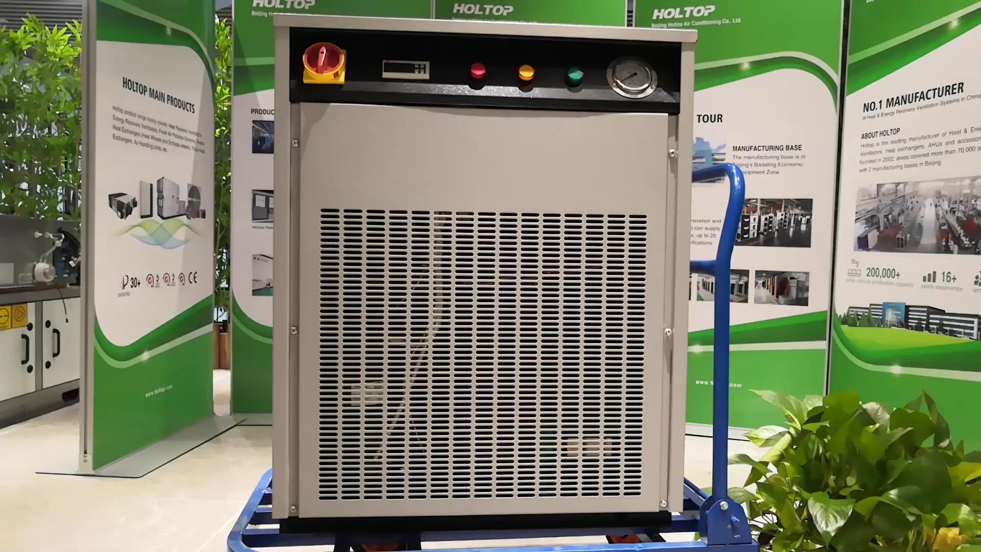 Paddestoel Boerderij Luchtgekoelde Condensor Airconditioner