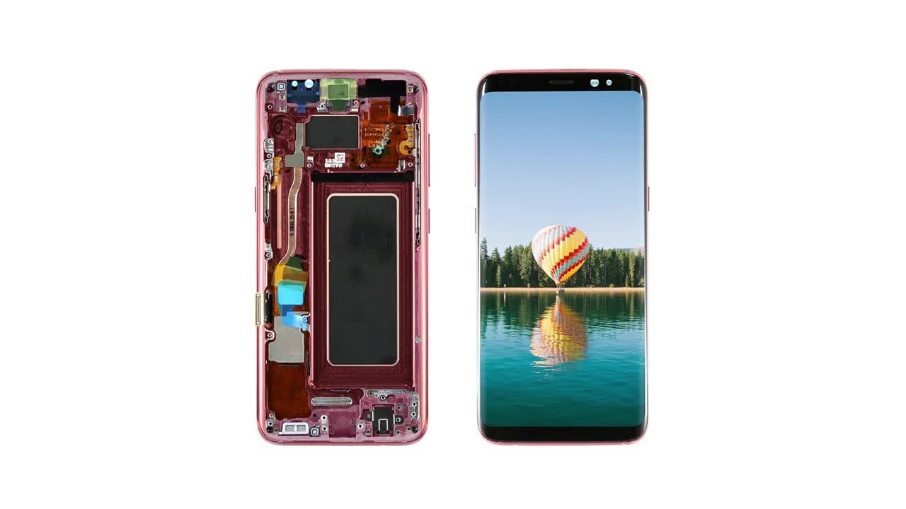 Lcd display for Samsung Galaxy s8, lcd display with touch screen assembly for Samsung Galaxy s8, For Samsung Galaxy s8 lcd