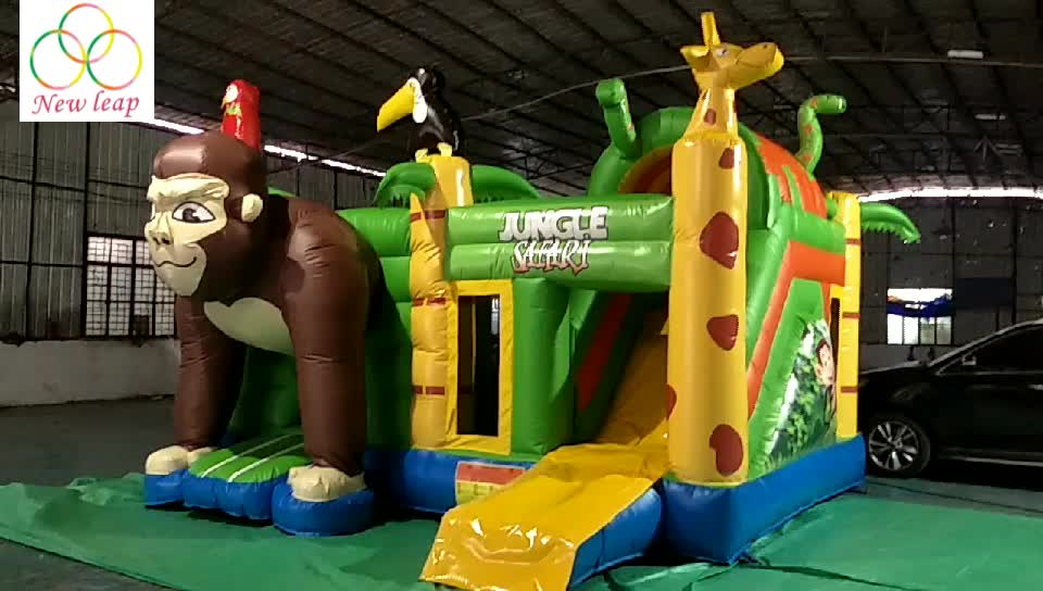 Kids Jumping Funny Dinosaur Inflatable Bouncer,Inflatable Bouncy Castle/Bounce House for Sale