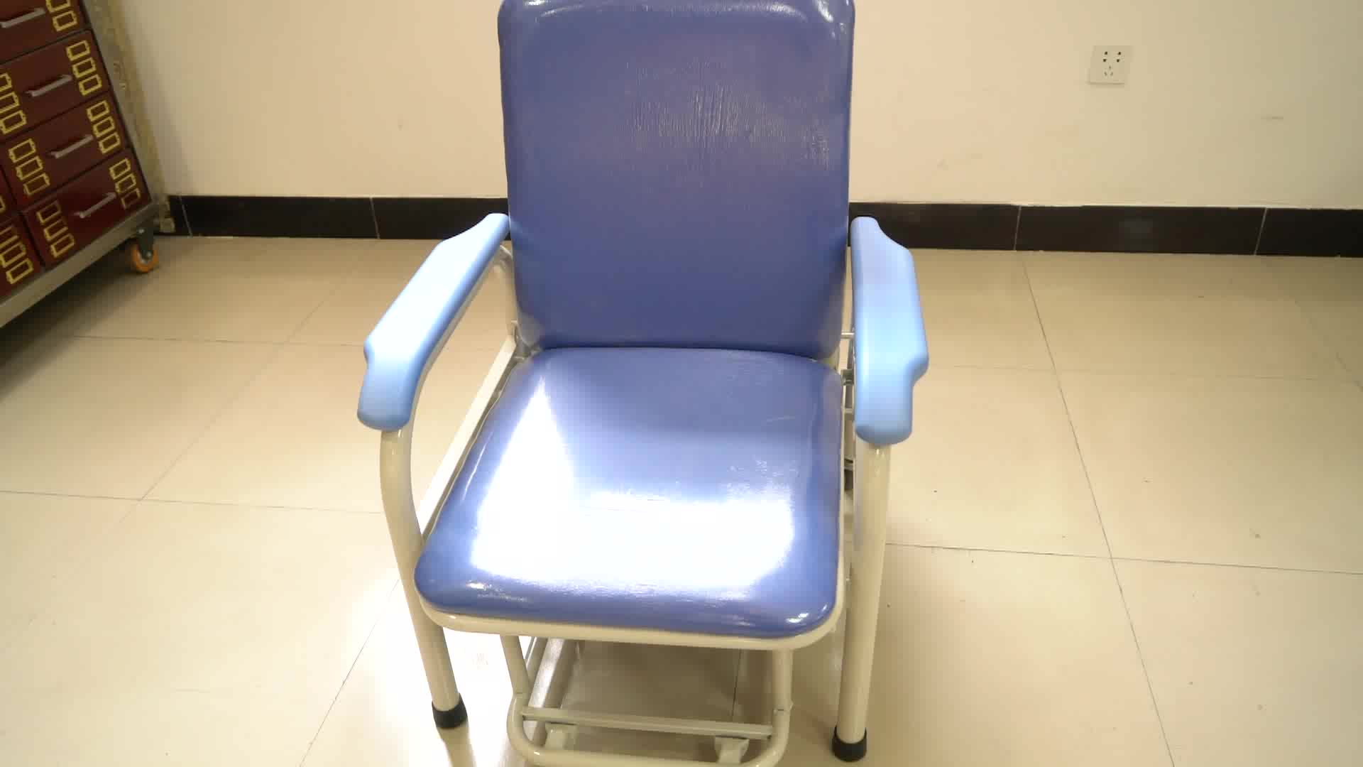 Hospital Medical Furniture Ward Used Fixed Transfusion Chair for Patient
