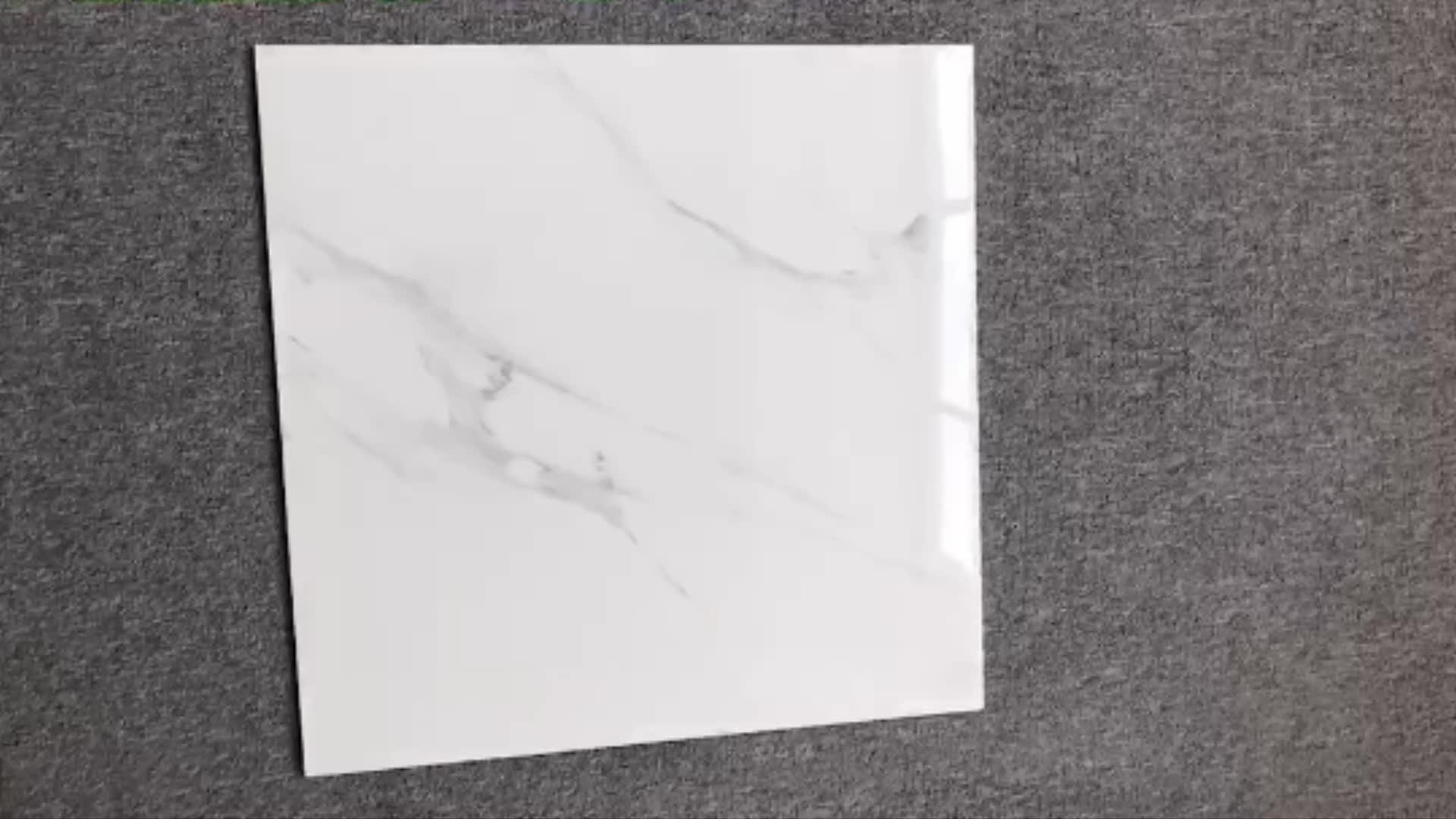 Chinese Decorative White Marble Tiles Design Floor Tiles
