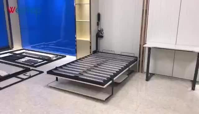 Furniture Kamar Tidur Pengangkat Murphy Dinding Tempat Tidur Meja Meja Peralatan dengan Kualitas Baik VT-14.025