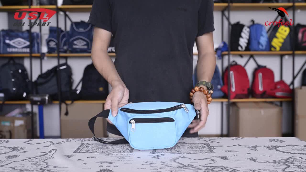 Оптовая продажа пользовательские печати водонепроницаемый для мужчин поясная сумка, модные женские туфли бум