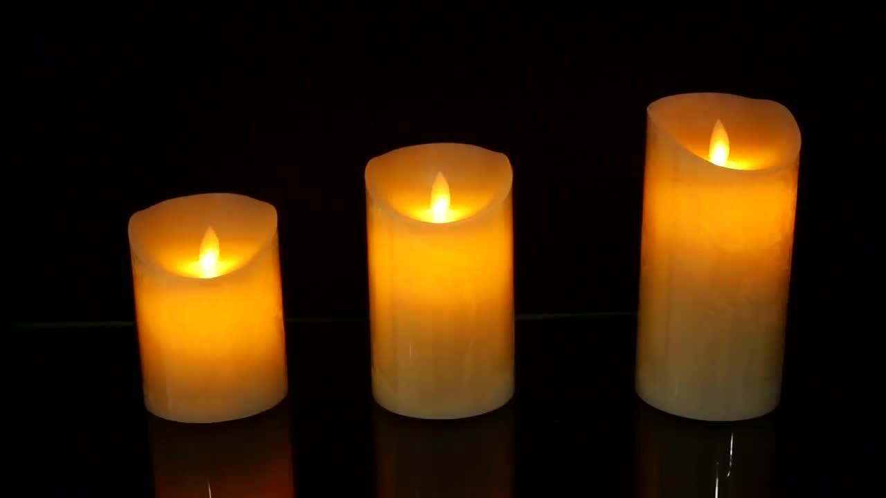 hot sale flameless led candle for party birthday or home use with RGB color and cheap price