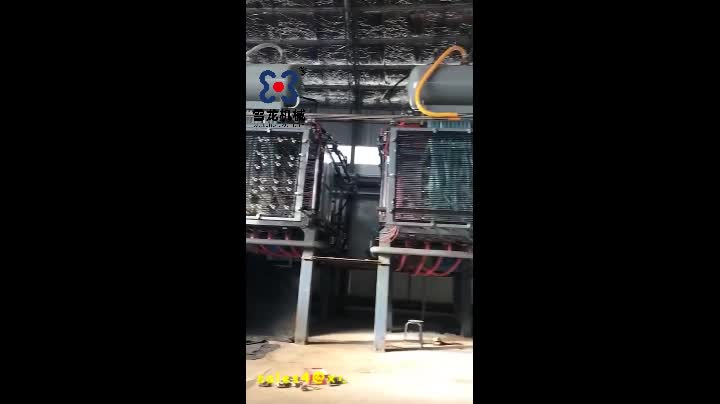 Eps insulating shape molding machine for icf block construction