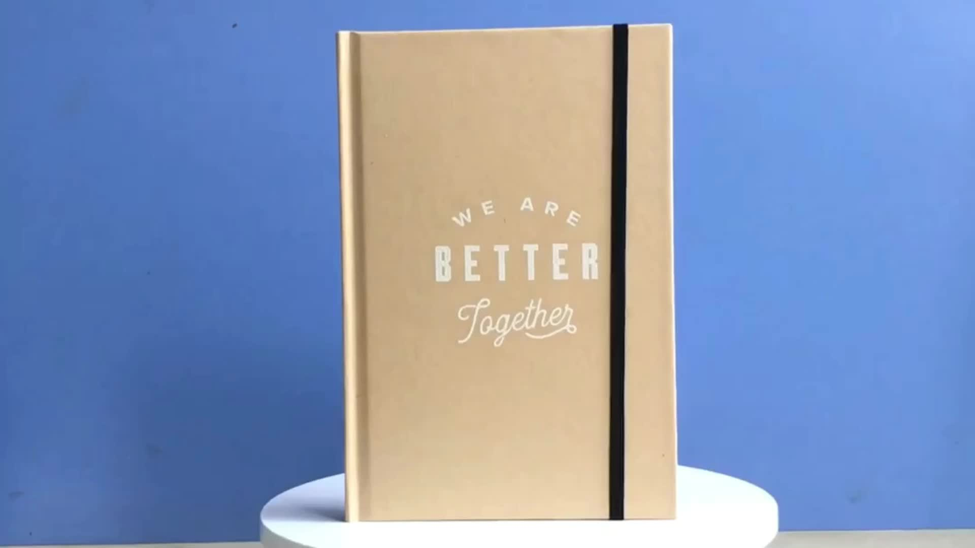 Customized High Quality Promotional Planner Journal Notebook For Student