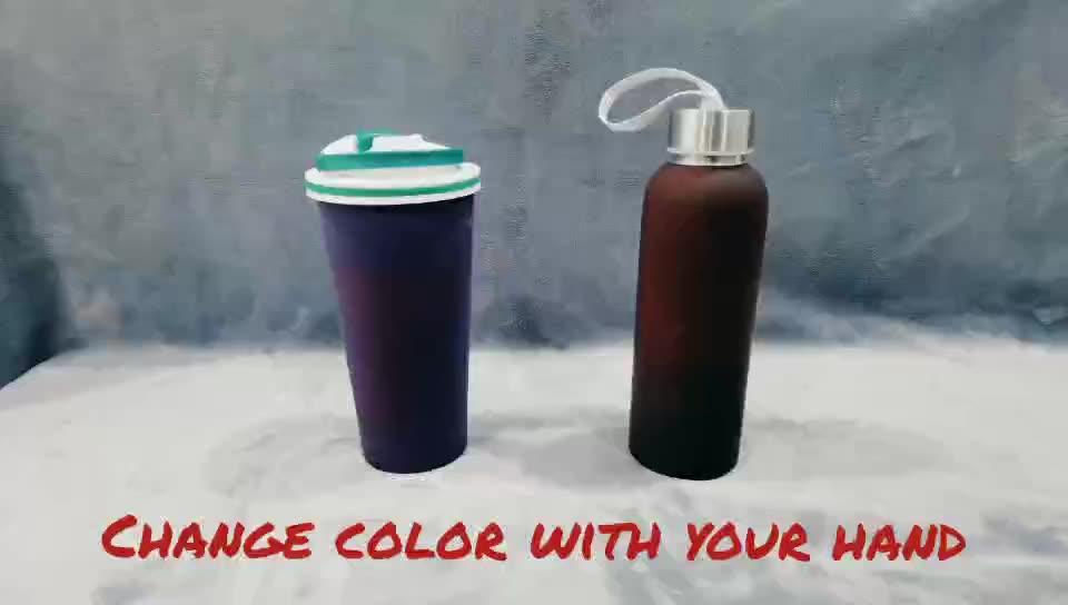 Wholesale custom logo printing metal aluminum bike sports water bottle