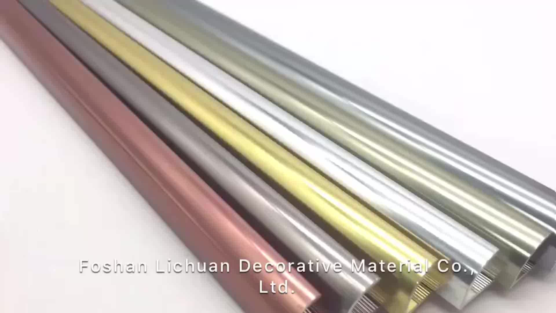Trade Assurance Flexible Decorative Metal Aluminium Border Tile Corner Trim