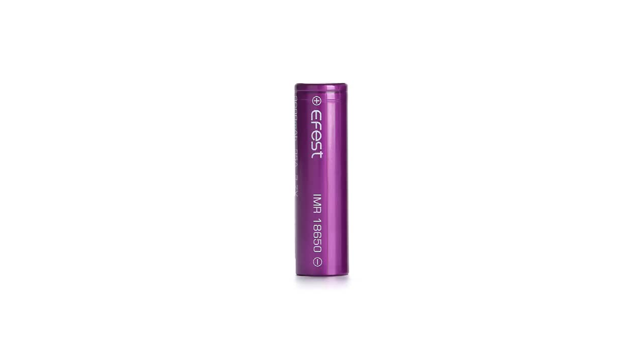 Efest 26650 Lithium ion 3.7V 5000mAh Rechargeable Battery