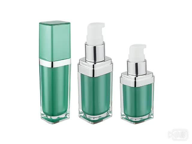 CE screen printing cosmetic recycled bottle packaging finishing cream pack & concealer airless bottle exporter