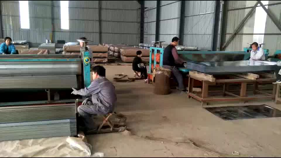 Galvanized Zinc Coated Corrugated Steel Roofing Sheet Metal Roof Sheet