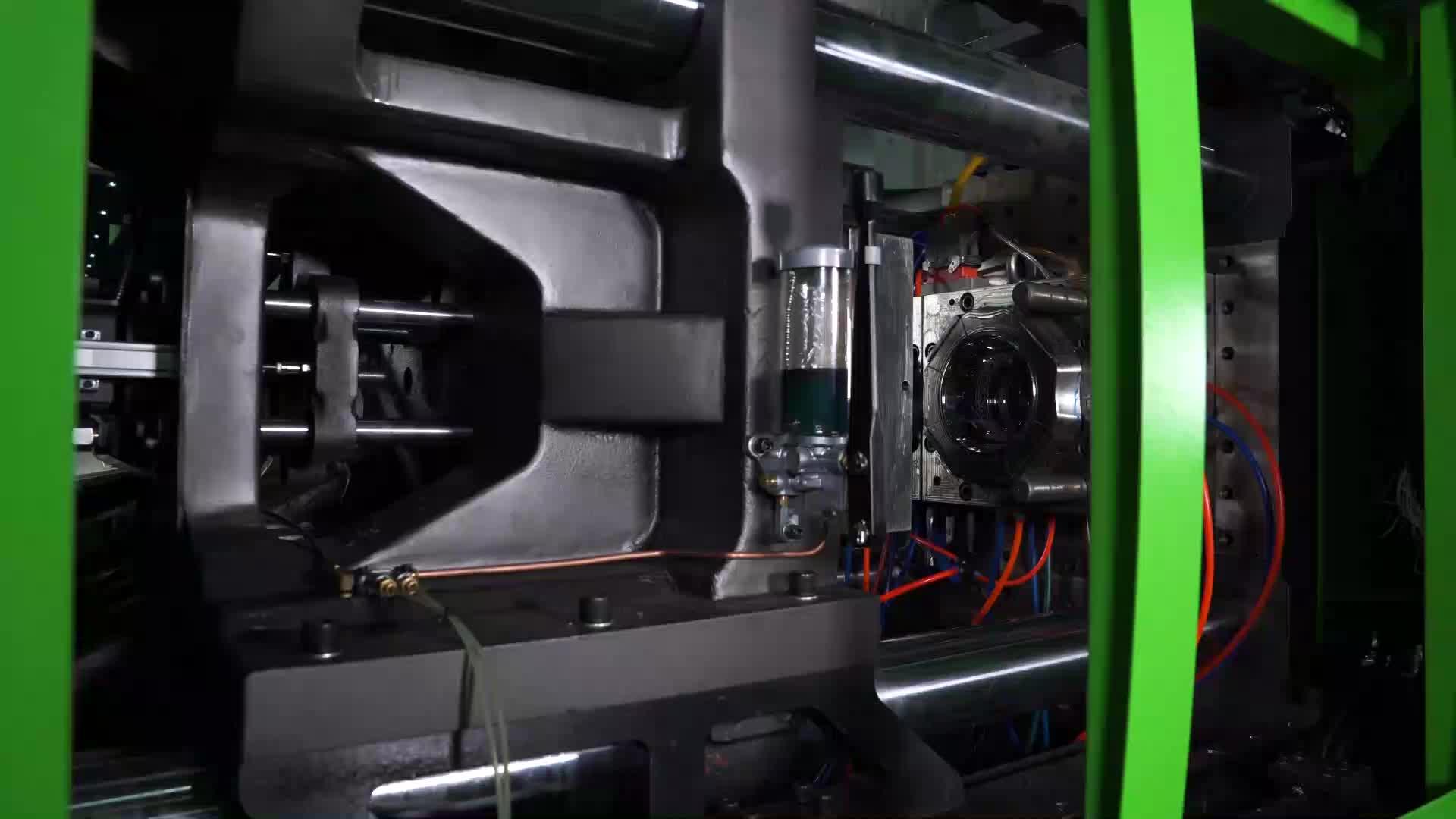 LISONG alta velocidade 250 ton máquina de moldagem por injeção de plástico preço LS258G3