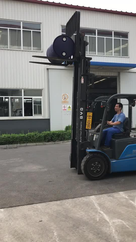 Üretici 200 litre 55 galon mavisi plastik bidon kapalı olarak kimyasal paket
