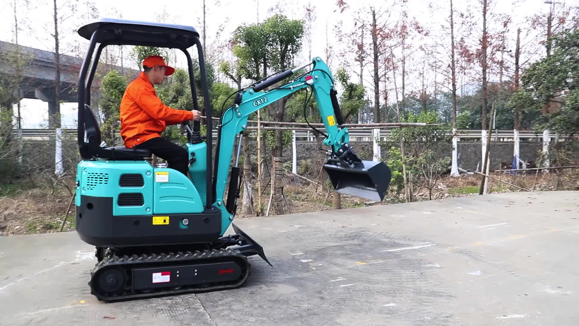 2020 NEW style Wholesale mini digger China engine prices small hydraulic excavator for sale