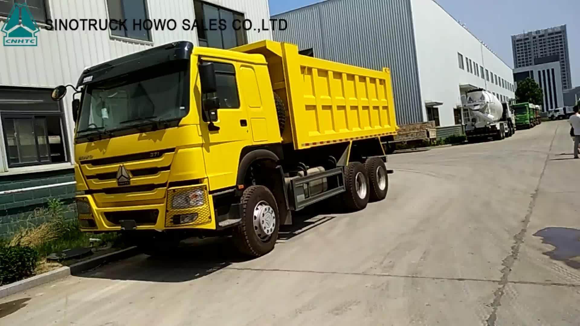 SINOTRUCK Giá Trung Quốc 25 30 40 tấn Mới Được Sử Dụng Cát 371 336 10 lốp xe Bánh Xe HOWO xe tải Tự Đổ