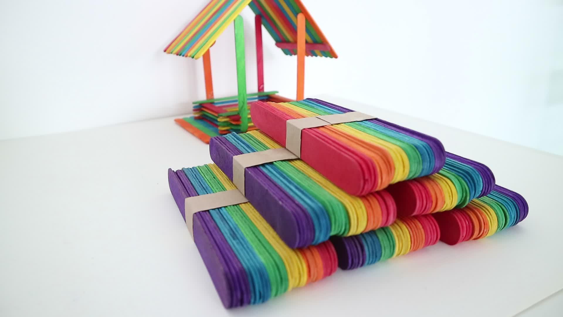 künstliche Eiscreme-Stock des hölzernen Spielzeugs