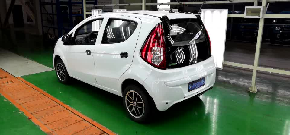 Low Speed 4 Wheels 5seats EEC certification E-Mark Auto Vehicle Adult Electric car