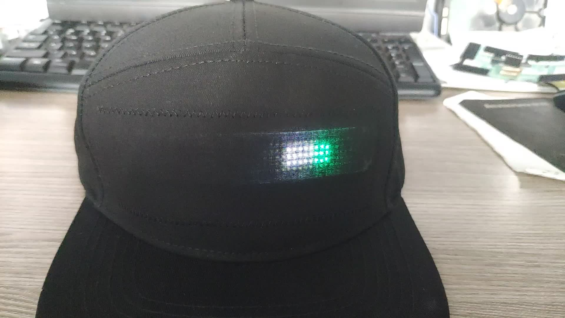 App Controlled Programmable LED Message Display Message Cap