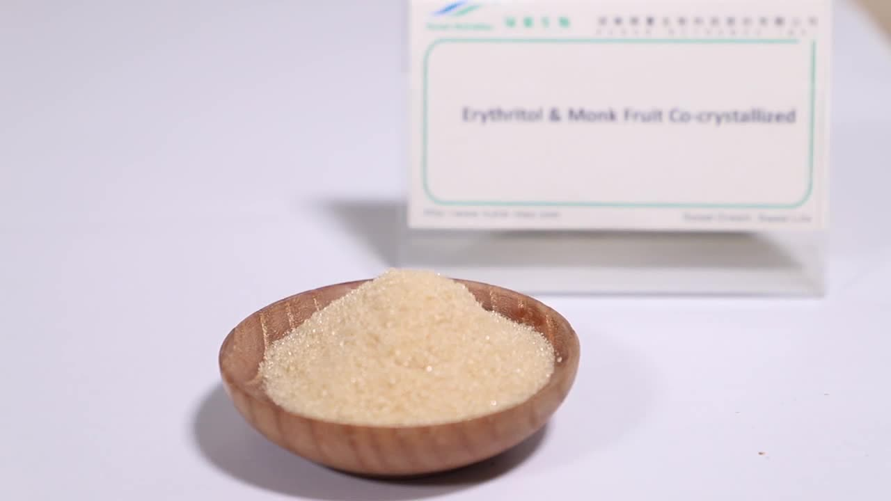 USDA Organic Monk Fruit Extract Powder, Non-GMO Luo Han Guo Extract Powder Mogroside V 20%~60%