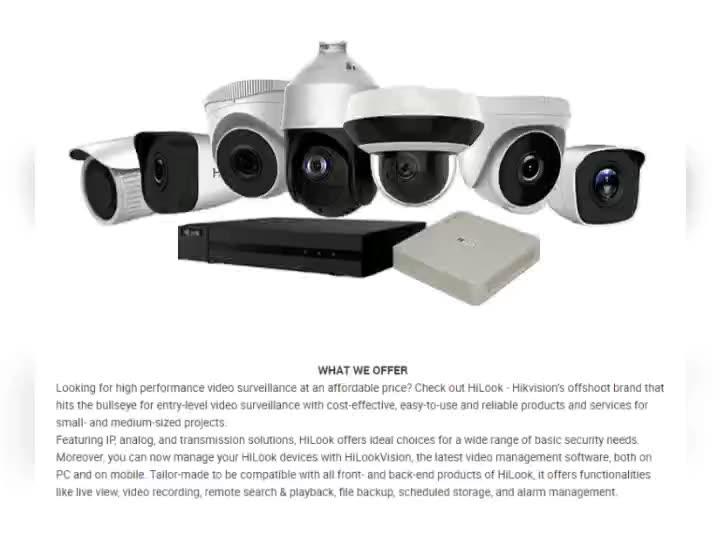 Hikivison ipcamera 2MP 4 MP motorized Varifocal kit de camara videocamera hikvsion poe security telecamera set