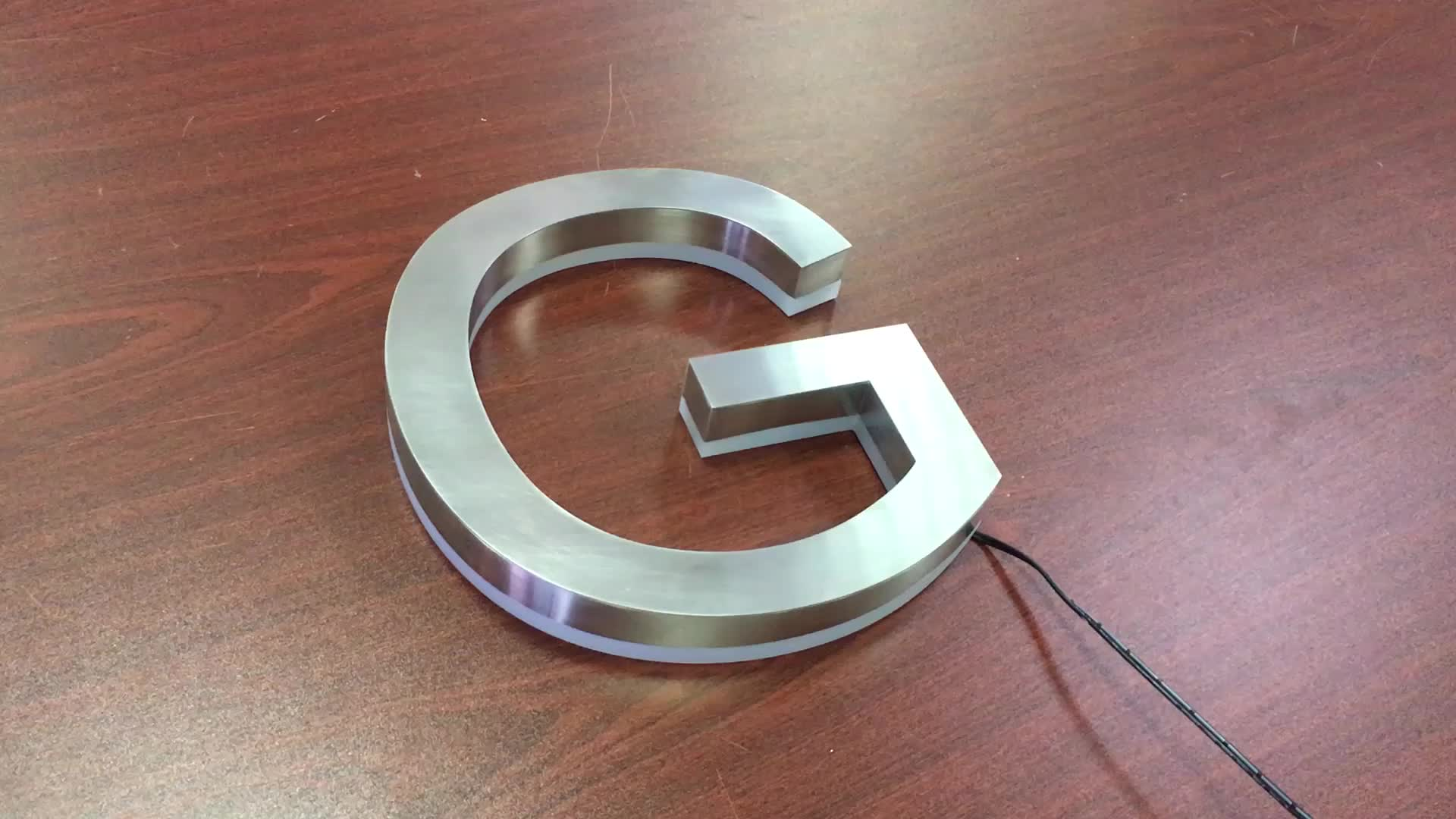 custom logo sign channel letter signs led illuminated signs