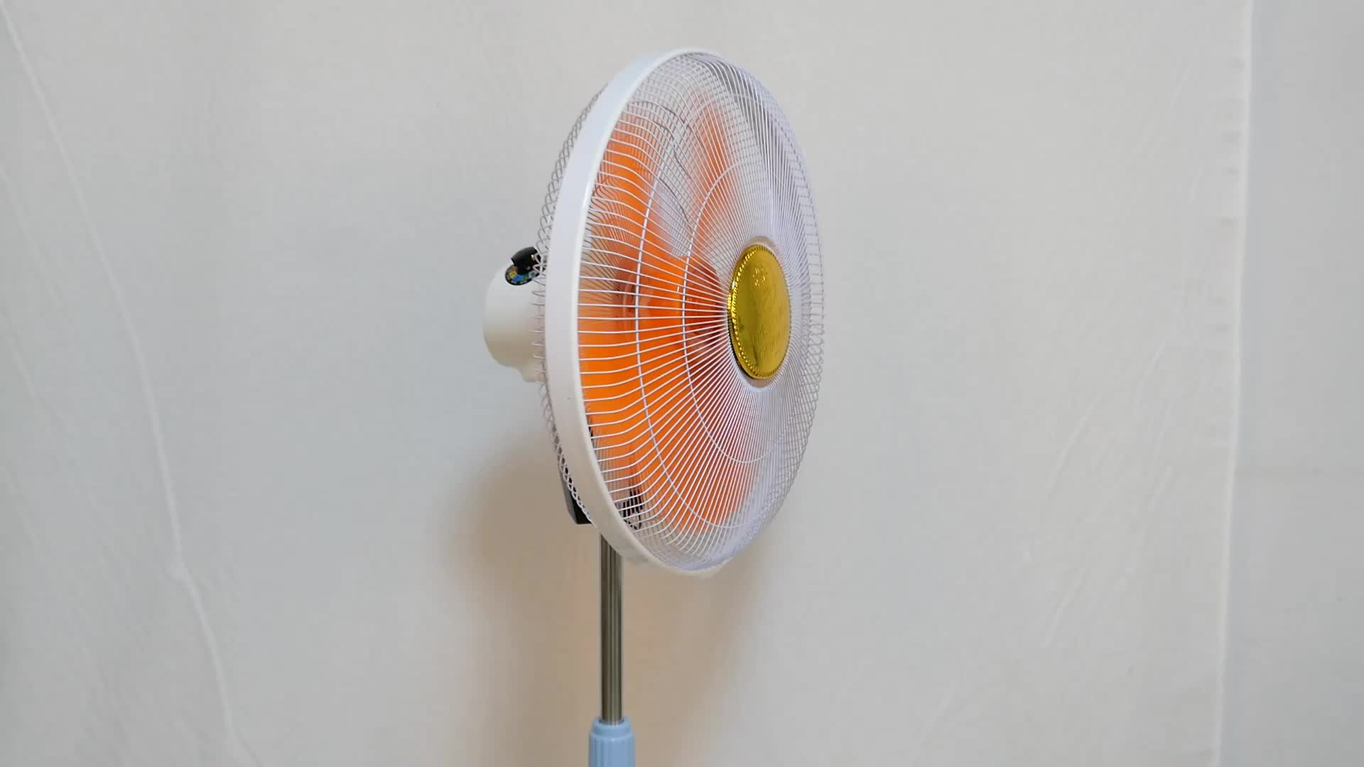 Güneş şarj plastik hava sirkülasyon ayaklı 12v Dc elektrikli Fan
