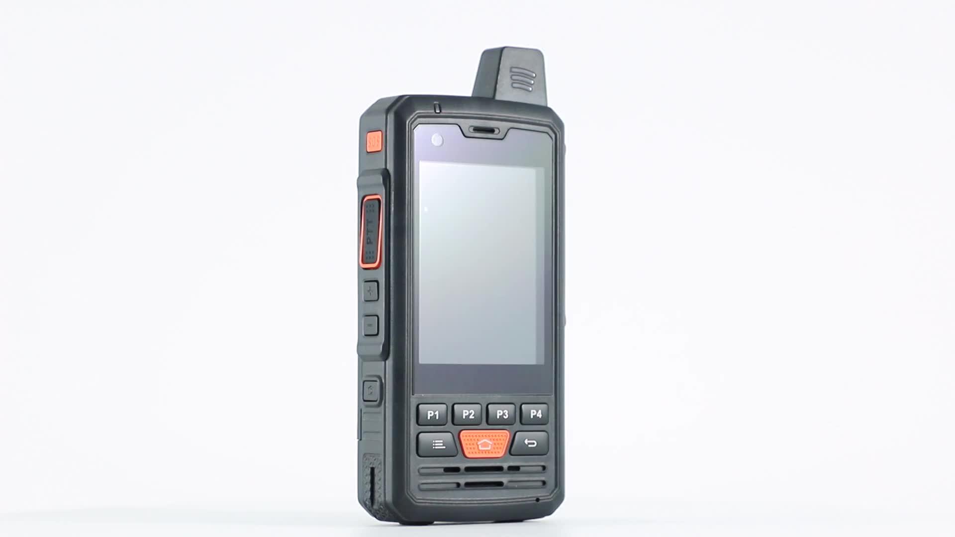 Teléfono Móvil resistente F50 con pantalla táctil de 2,8 pulgadas con Walkie Talkie