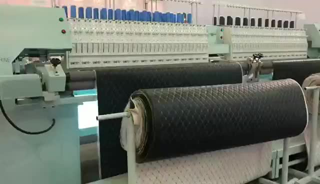 YBD64- 2 Model High Speed Computerized Multi-function Mattress Production Quilting Machine