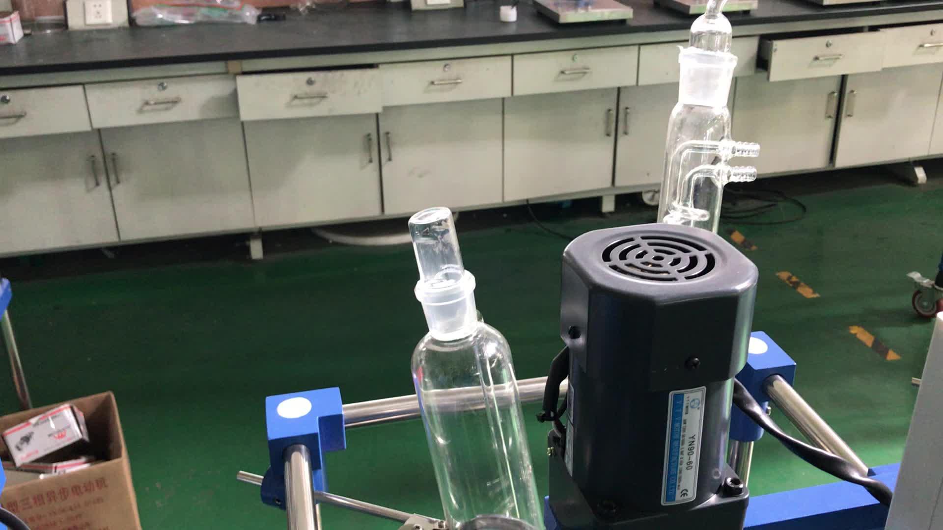 Tanque de agitação contínua reator de vidro químico