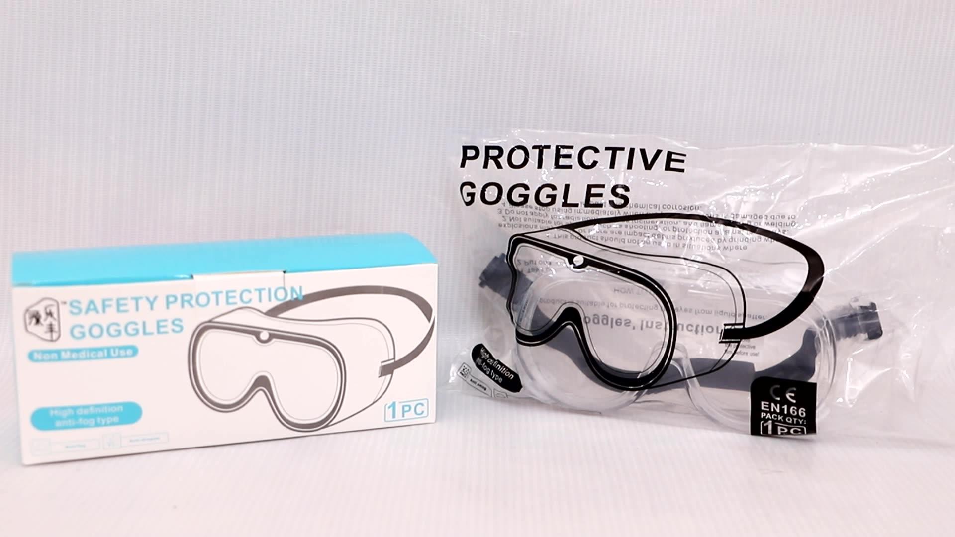 YY-321 المتاح سلامة نظّارة واقية نظارات