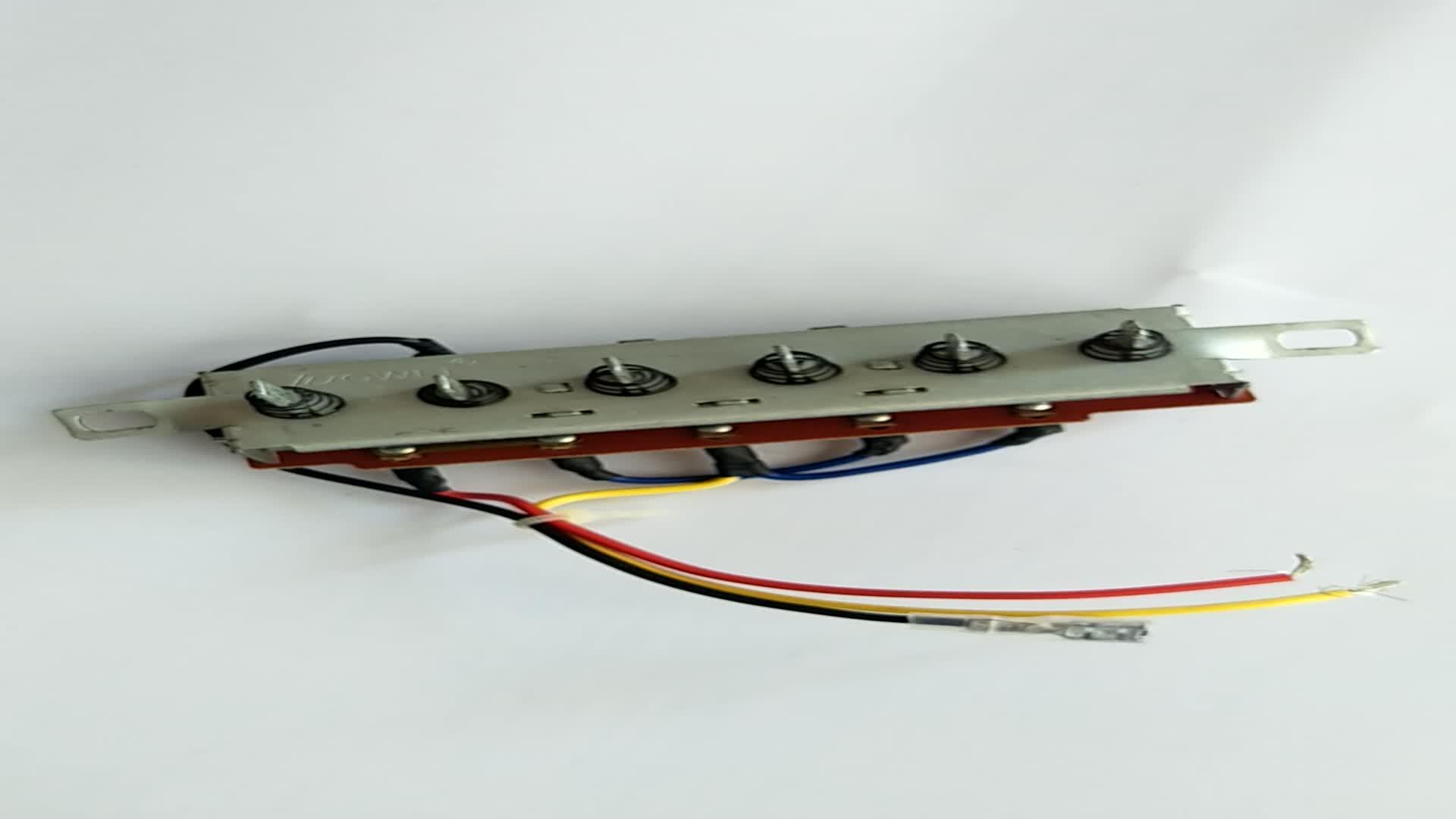 13A ~ 120 V 6A ~ 250 V Steel Blender Buah Listrik Mixer Fan 6 Posisi Piano Keyboard Switch