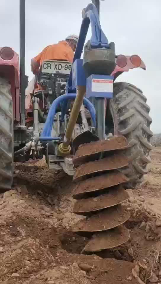 ट्रैक्टर PTO घुड़सवार उद्यान उपकरण पृथ्वी बरमा पोस्ट छेद खोदने के लिए बिक्री