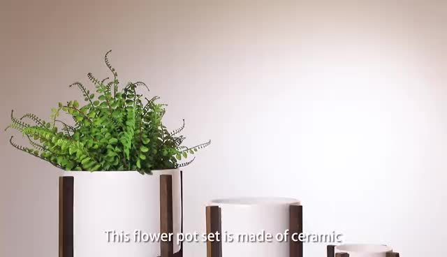 Blumentopf mit ständer