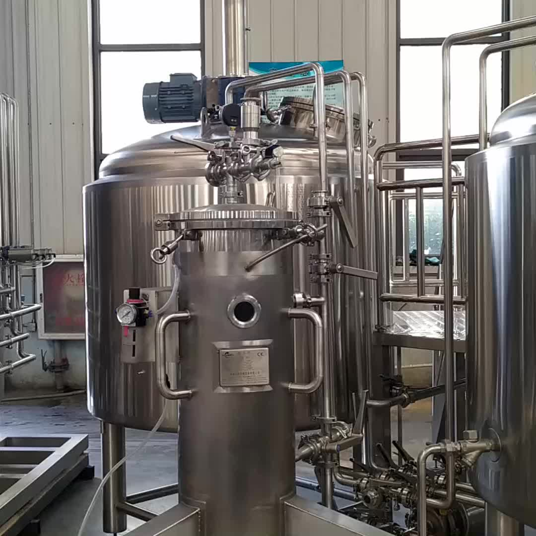 80kg माल्ट चक्की मशीन 100-300 लीटर के लिए मिलर शिल्प बीयर शराब की भठ्ठी