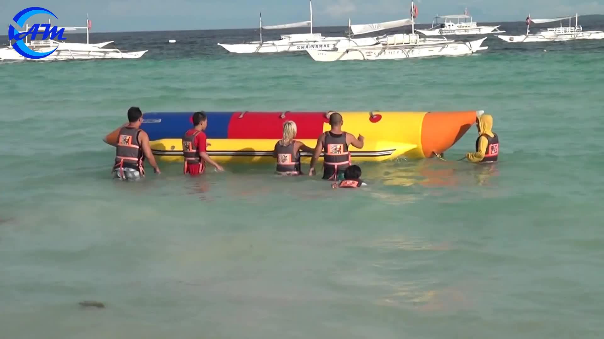 Su misura banana boat fly pesce/volante gonfiabile banana boat in vendita