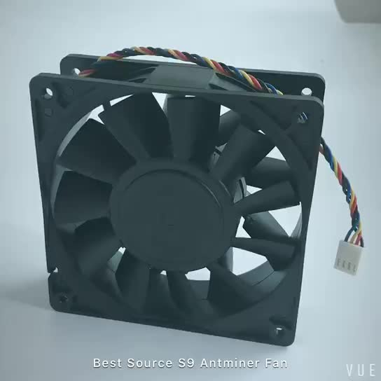 BSI IN Stock miner fan 6000rpm S7 S9 Antminer for Bitcoin Miner Mining Machine