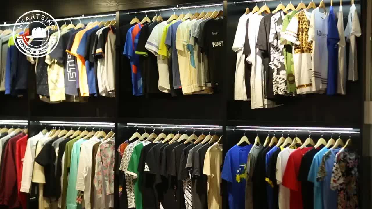 Designer mens clothing cotton polyester tshirt clothing manufacturers china