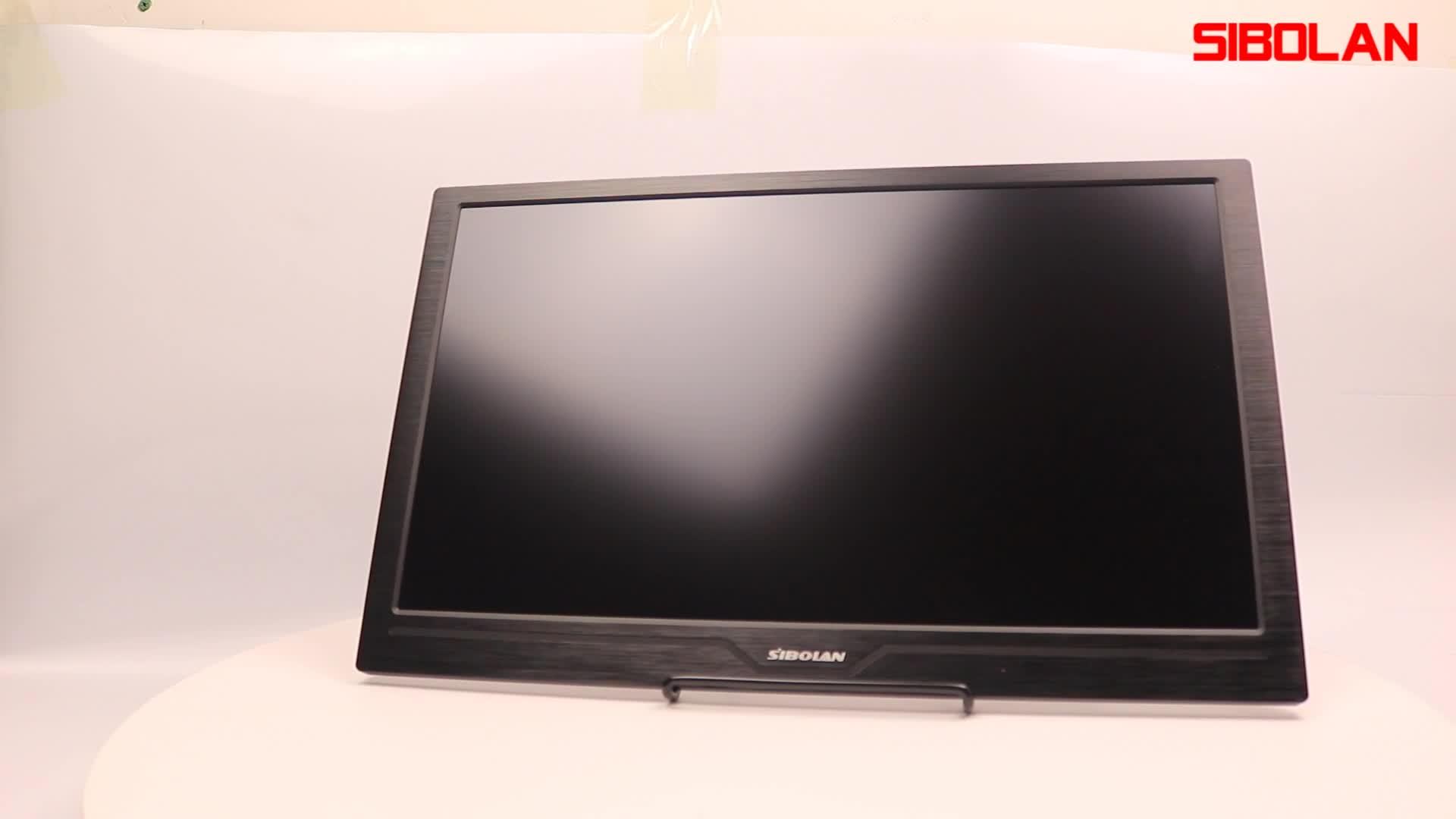 OEM फैक्टरी 18.4 इंच 4 k गेमिंग मॉनिटर UHD 3840x2160 पीसी मॉनिटर के साथ 4 k 100% आरजीबी वज्र 3 यूएसबी प्रकार-सी