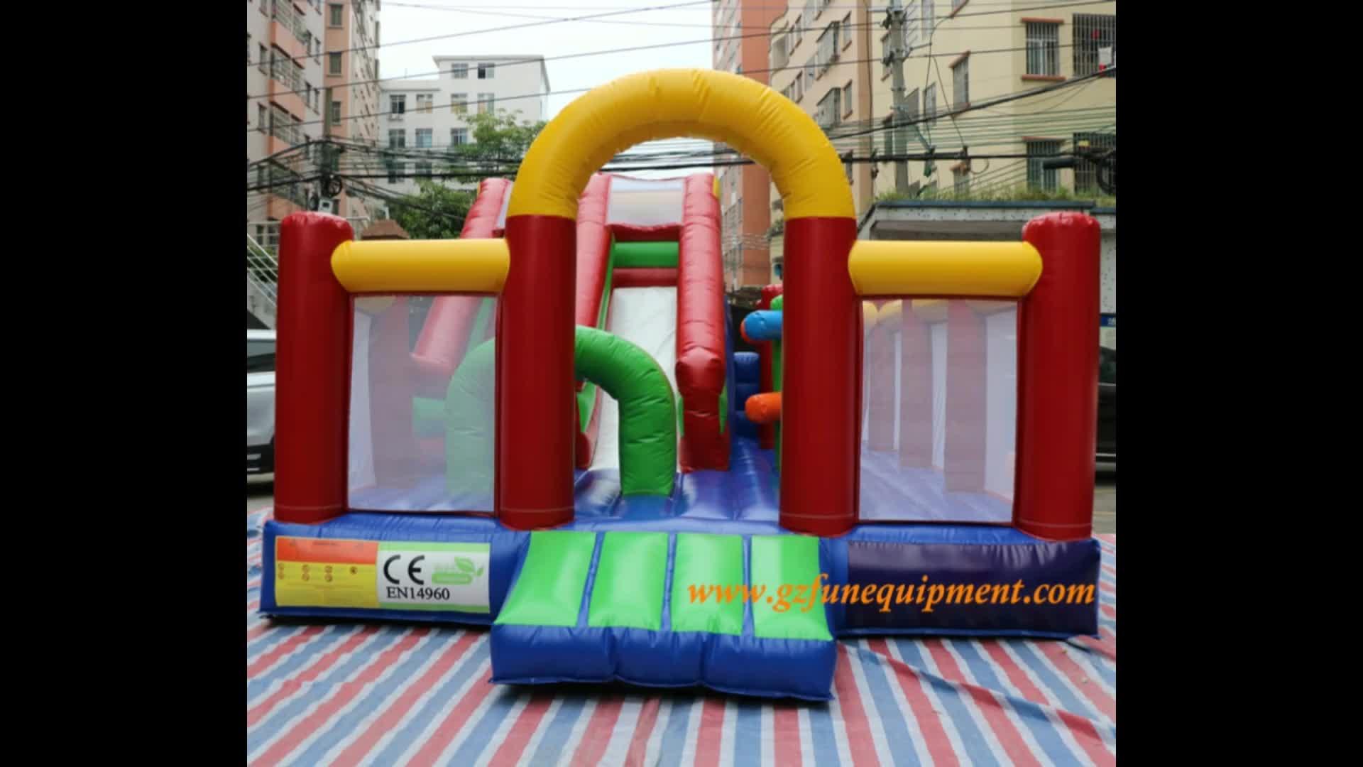 Hot sale inflatable bounce castle bouncy slide inflatable jumping bouncer for Amusement park