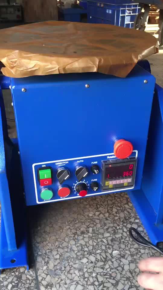 100 กก. positioner เชื่อม/เชื่อมแผ่นเสียง/เชื่อม Rotator WDBWJ-1