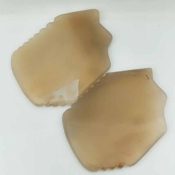 Best Price Agate Gua sha Stone Board Comb for Lynph Drenage